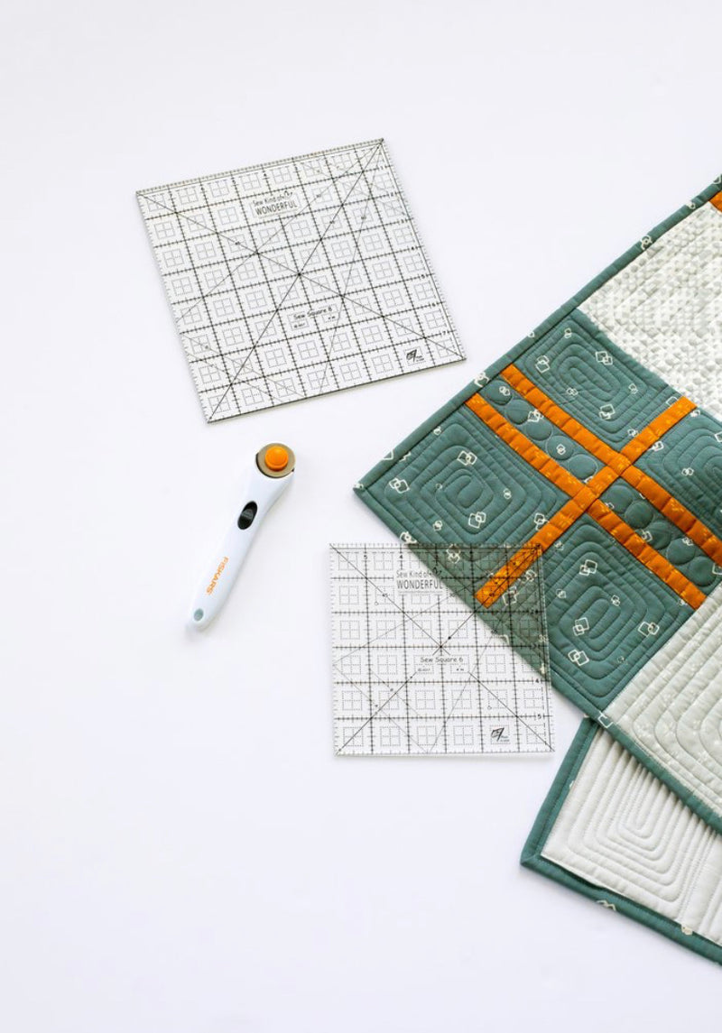 Square Up Rulers by Sew Kind of Wonderful