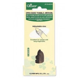 Open Sided Thimble - Medium