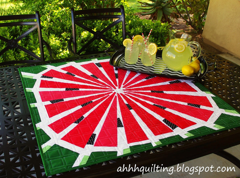 Watermelon by Cynthia Muir of Ahh ... Quilting