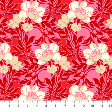 True Kisses - Flirty Floral in Red
