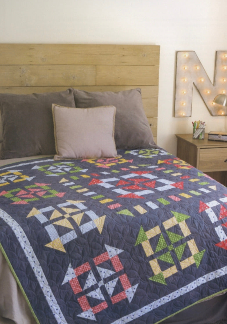 Fresh Fat-Quarter Quilts, 12 Projects for Your Favorite Fabrics