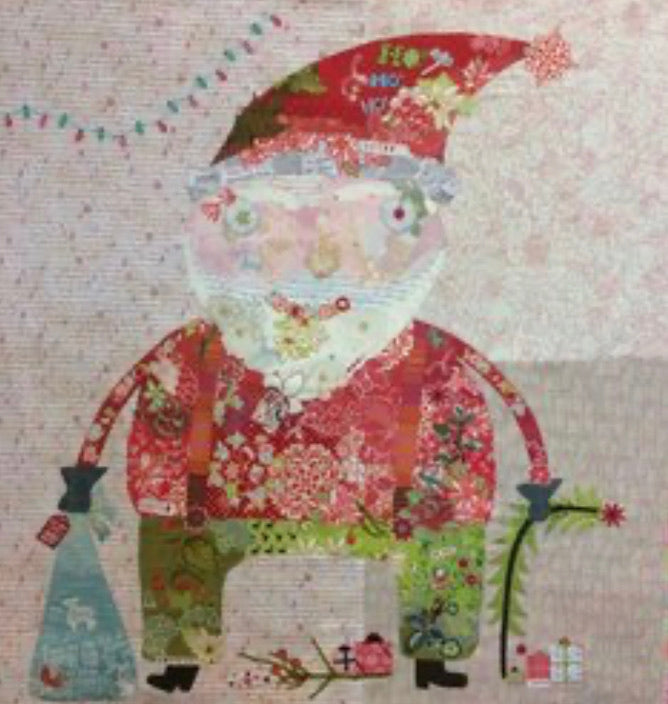 Nick Collage Pattern by Laura Heine