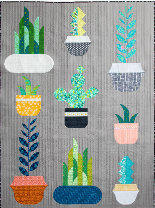 Plant Life pattern by Sew Kind of Wonderful