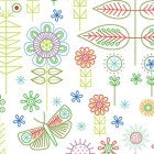 Summer Sampler - Multi Colour Doodles