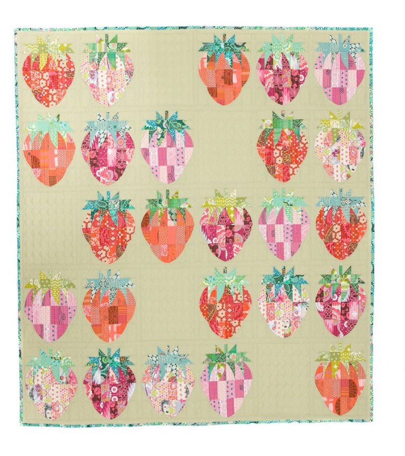 Mod Strawberries pattern by Sew Kind of Wonderful