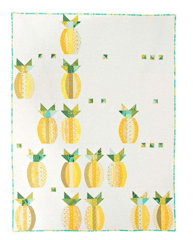 Mod Pineapples pattern by Sew Kind of Wonderful