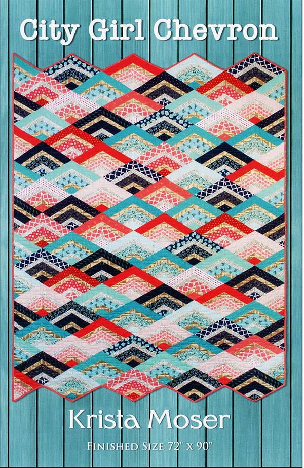 City Girl Chevron Quilt by Krista Moser - Quilt Kit