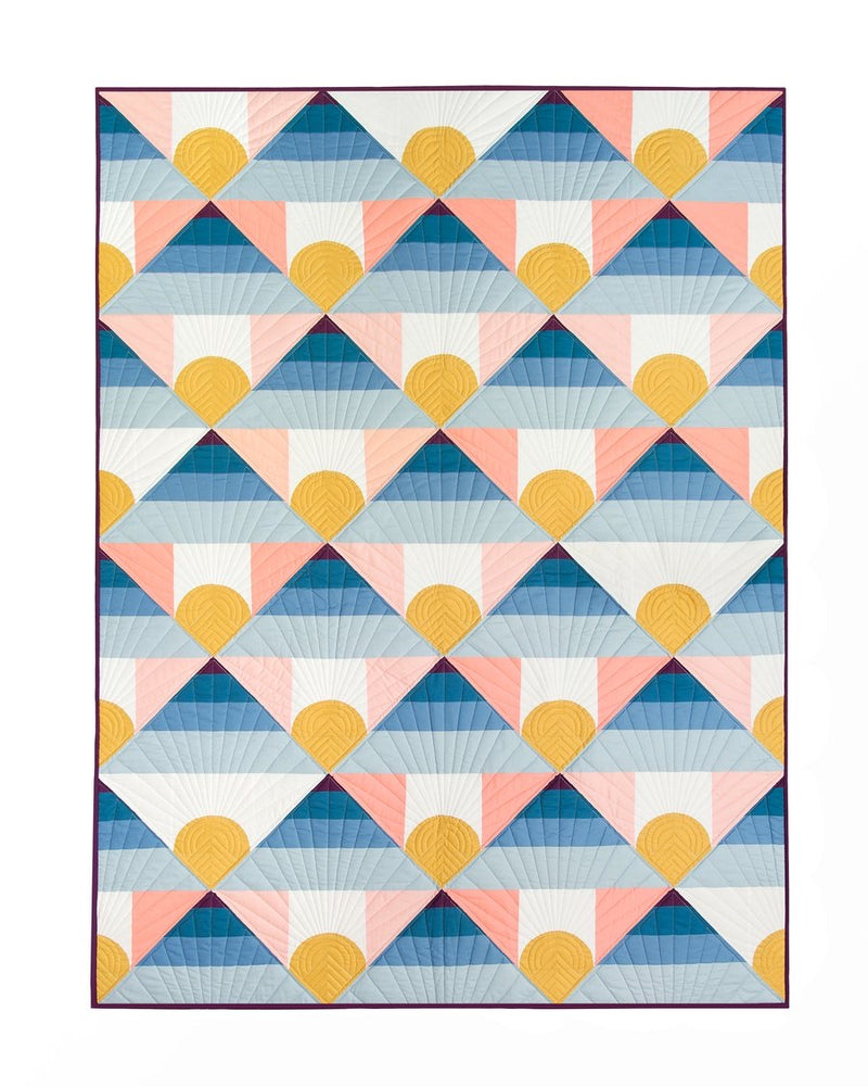 Mountain Horizon by Lo & Behold Stitchery Quilt Kit