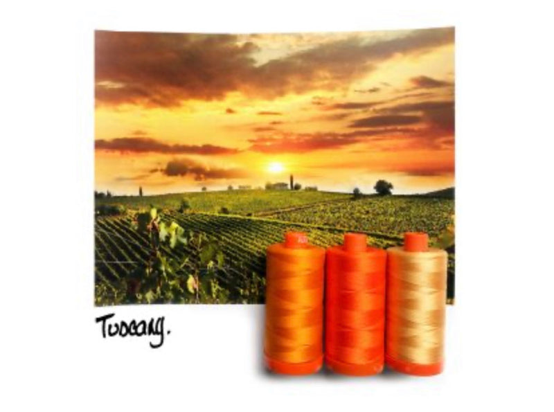 Color Builder Box - Tuscany Orange