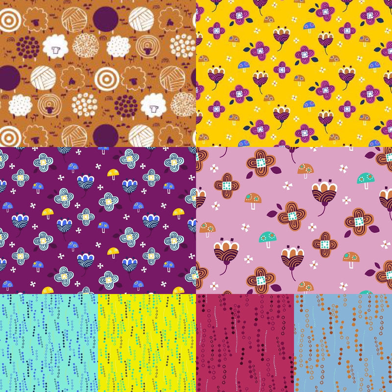 Fuwafuwa - Fat Quarter Bundle