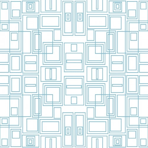 Good Vibes - Circuit Board - Turquoise/ White
