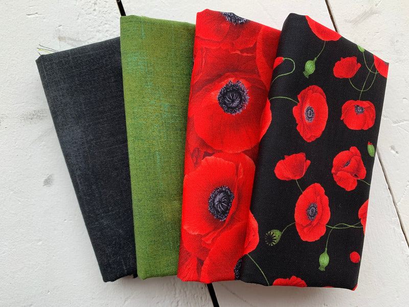 Wild Poppies - Fat Quarter Bundle