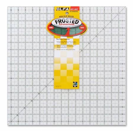 Olfa Frosted 16.5 inch Square Ruler - The Workhorse