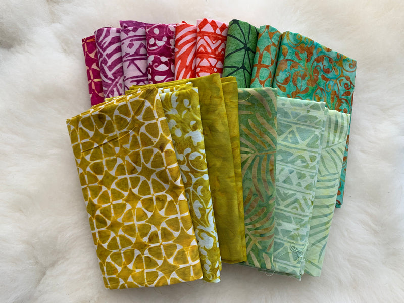 Malibu - Warm Fat Quarter Bundle
