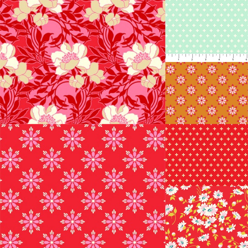 True Kisses - Fat Quarter Bundle