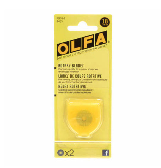 18 mm OLFA Rotary Cutter Blades
