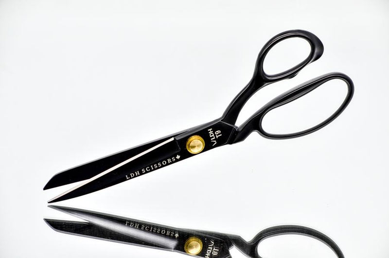 "Matte Black 8"" Fabric Shears - Limited Edition"