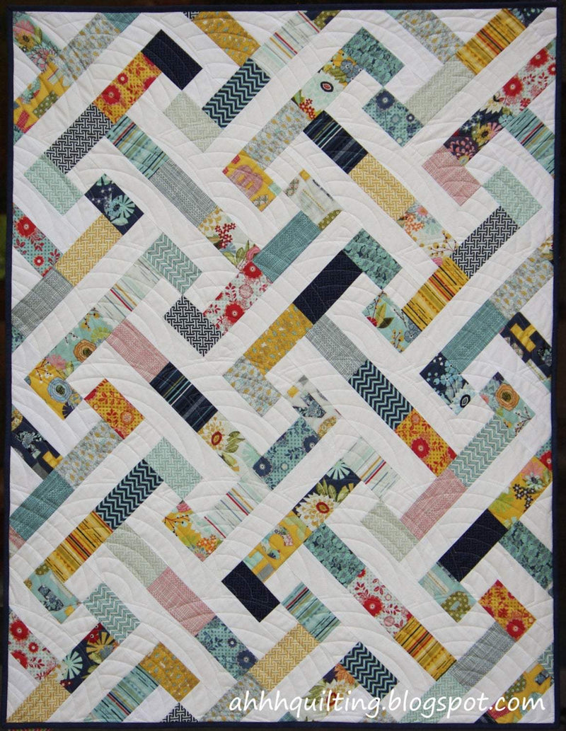 PB & J by Cynthia Muir of Ahh ... Quilting