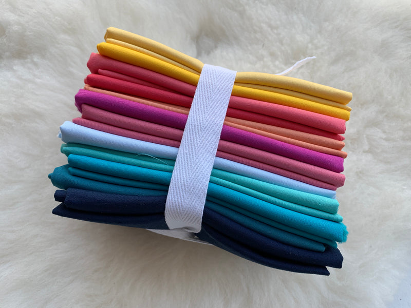 Over the Rainbow- Northcott Colorworks - Fat Quarter Bundle