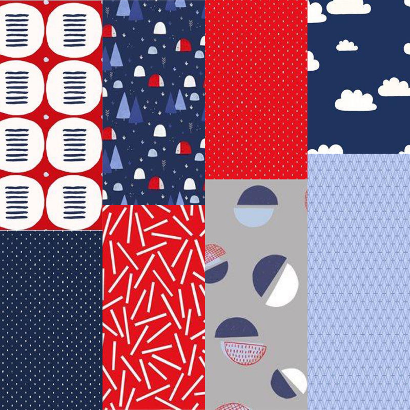 The Rain in Spain - Fat Quarter Bundle