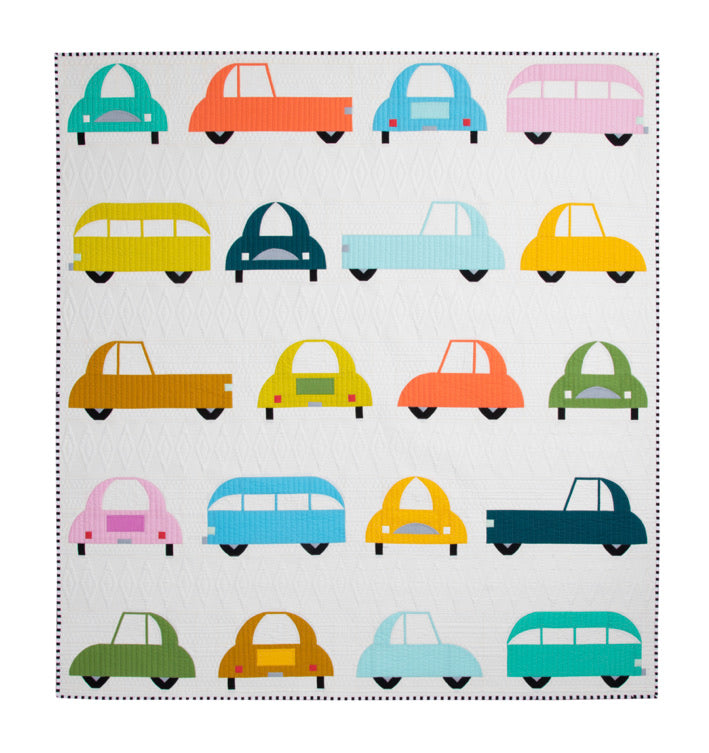 Cool Cars pattern by Sew Kind of Wonderful