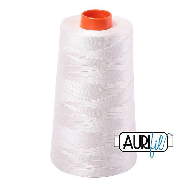 Aurifil - 50wt - Natural White - 2021 -  Cone