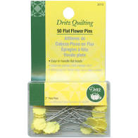 Dritz Flat Head Flower Pins - 50