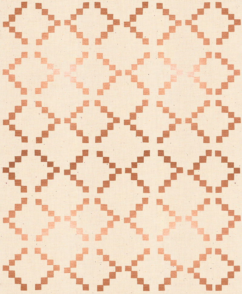 Golden Hour Tile Copper Metallic