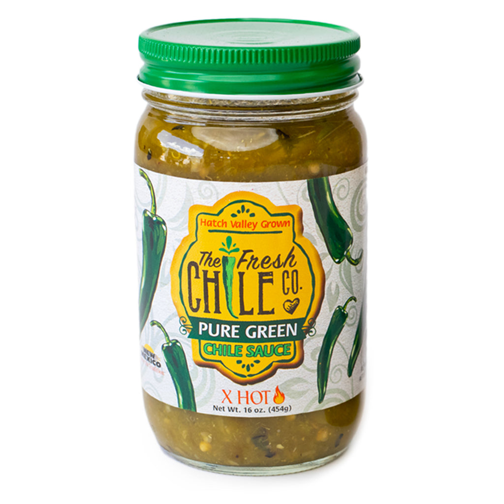 The Fresh Chile Company Green Chile Sauce - XHot