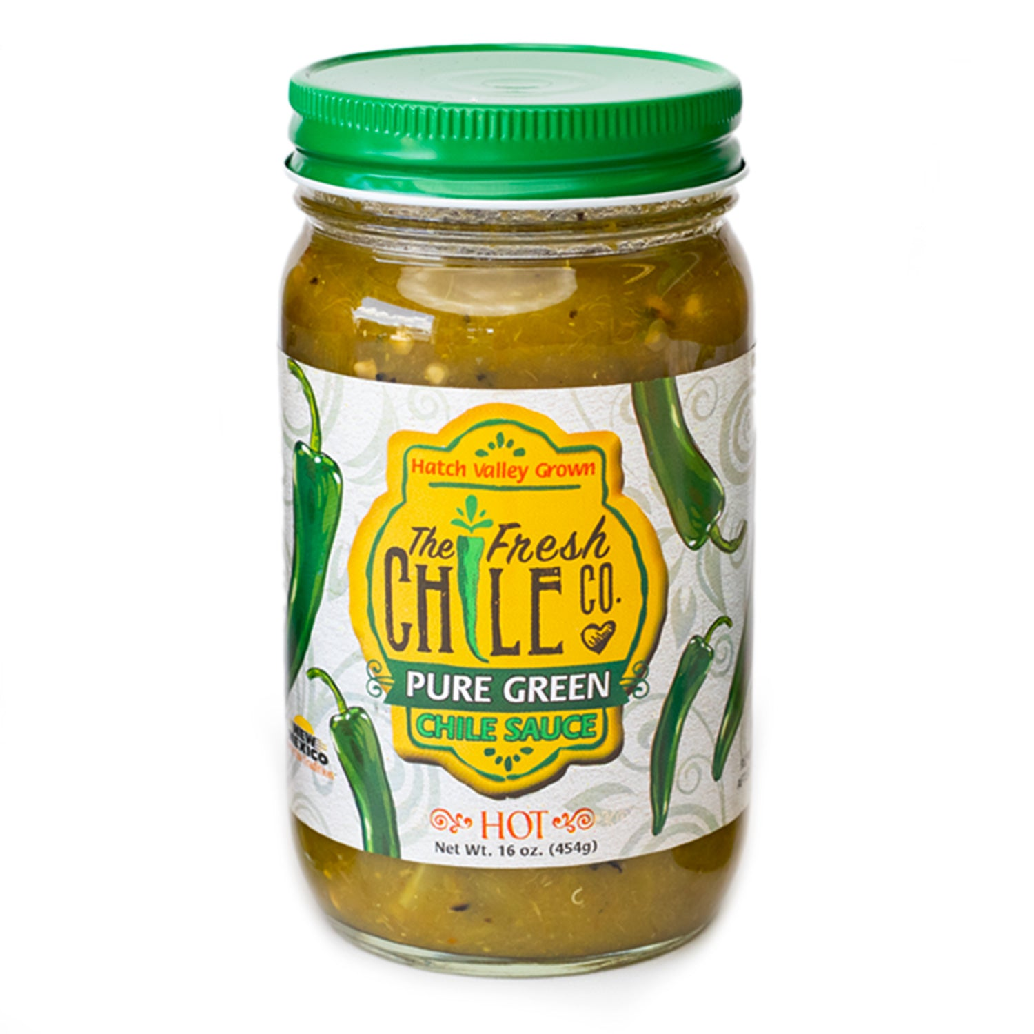 The Fresh Chile Company Green Chile Sauce - Hot