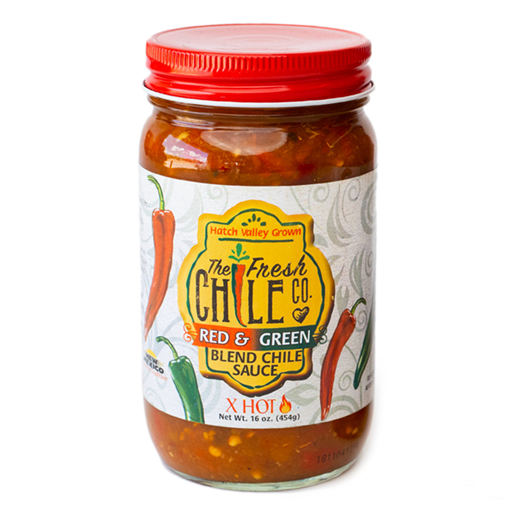 The Fresh Chile Company Red/Green Chile Sauce - XHot