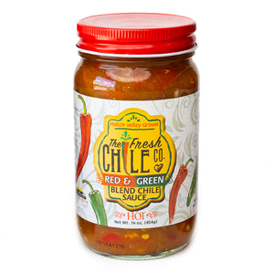 The Fresh Chile Company Red/Green Chile Sauce - Hot