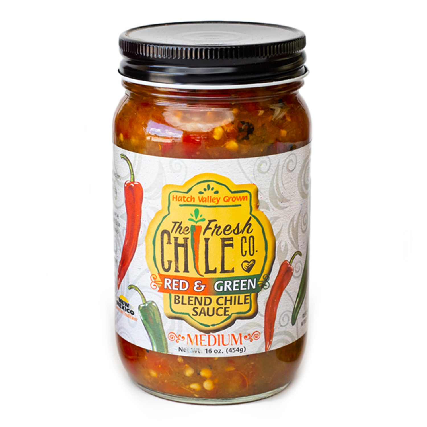 The Fresh Chile Company Red/Green Chile Sauce - Medium