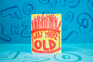 Wow Birthday Card