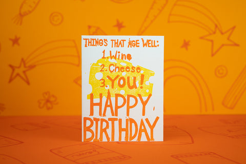 Aged Well Birthday Card