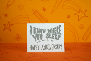 Creepy Anniversary Card
