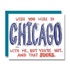 Wish You Were In CHICAGO With Me