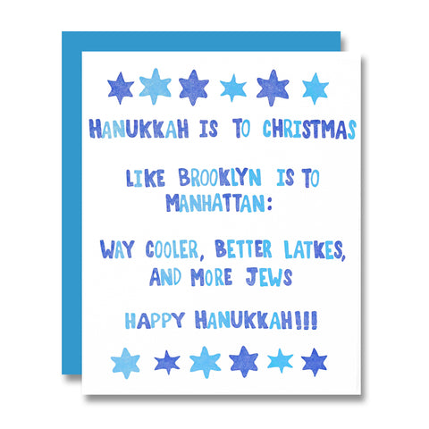 Hanukkah the Brooklyn Way