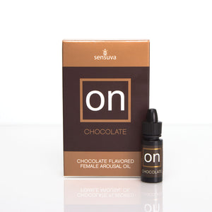 SENSUVA ON FOR HER AROUSAL OIL- CHOCOLATE