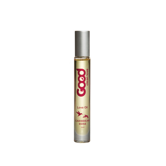 GOOD CLEAN LOVE OIL 10ML - CARIBBEAN ROSE