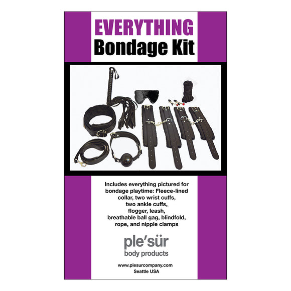 EVERYTHING BONDAGE KIT - BLACK