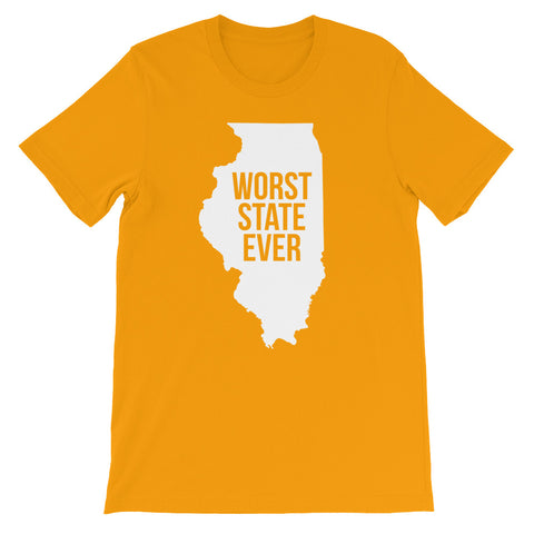 Illinois Worst State Ever T-Shirt