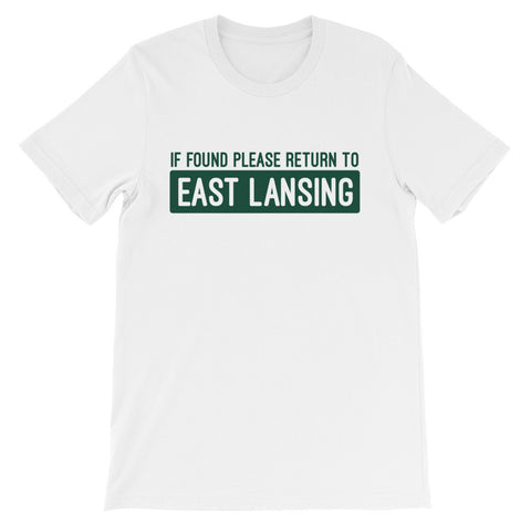 MSU Please Return to East Lansing T-Shirt