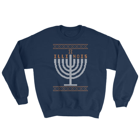 UIUC Menorah Ugly Sweater