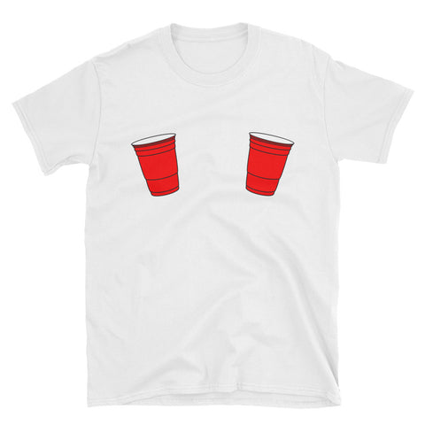 Red Solo Cup Boobs T-Shirt