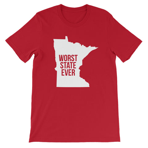 Minnesota Worst State Ever T-Shirt