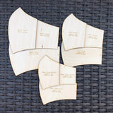 Olsen Face Mask Sewing Pattern (Set of 4)