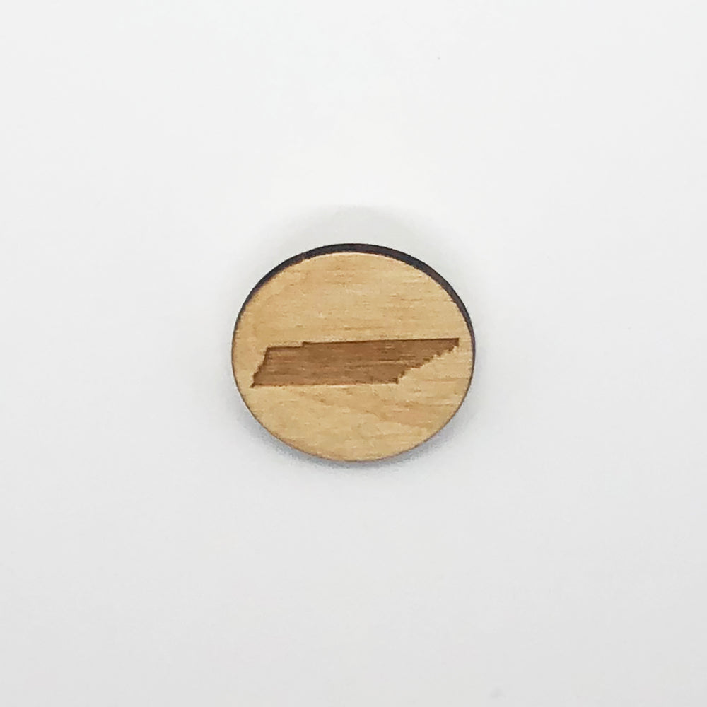 """Tennessee"" Wood Magnet"