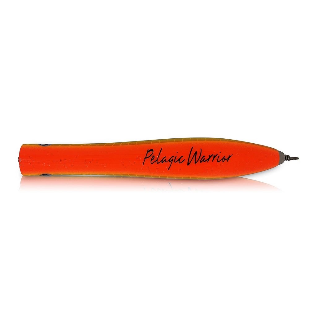 Pencil Saltwater Popper - Orange Yellow - PelagicWarrior