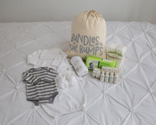 Baby Essentials - Pre Packed Hospital Bag | White | Bundles for Bumps